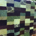 If I could buy a quilting machine, I would.