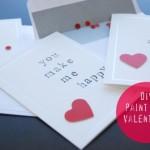 Tut Tuesday: DIY Paint Chip Valentines