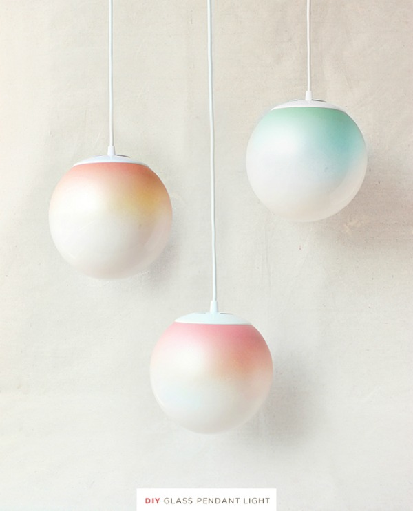 Fresh Find Friday, The Proper Pinwheel, Design Love Fest, Ombre pendant lights