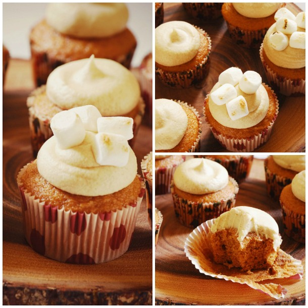 Sweet Potato Cupcakes, Autumn Appetite, Recipe, Autumn Cupcakes