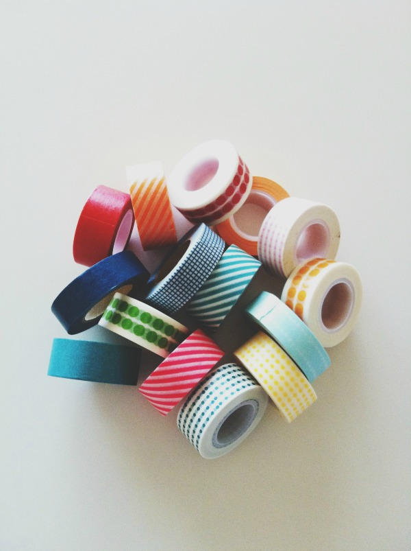 washi tape, the proper pinwheel, hoarding