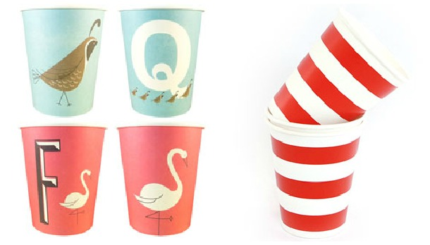 Party Cups, Paper Cups, The Proper Pinwheel, Magpie, Shop Sweet Lulu