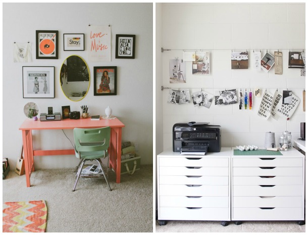 Sweet home offices, Desks, The Proper Pinwheel, Pinterest