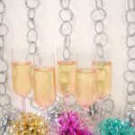 DIY Tinted Champagne Flutes