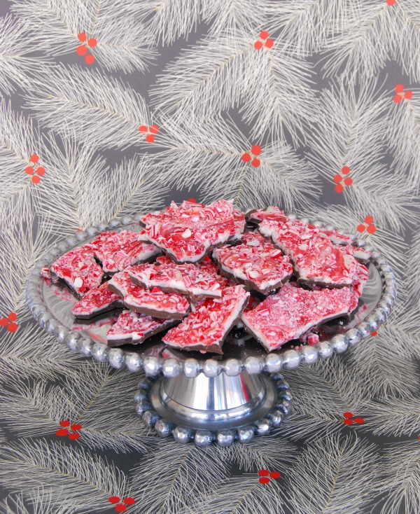 Peppermint Bark, Holiday Recipes, The Proper Pinwheel, Mission Merry 2012, DIY peppermint Bark, Christmas treats,