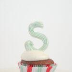 DIY Meringue Cupcake Toppers