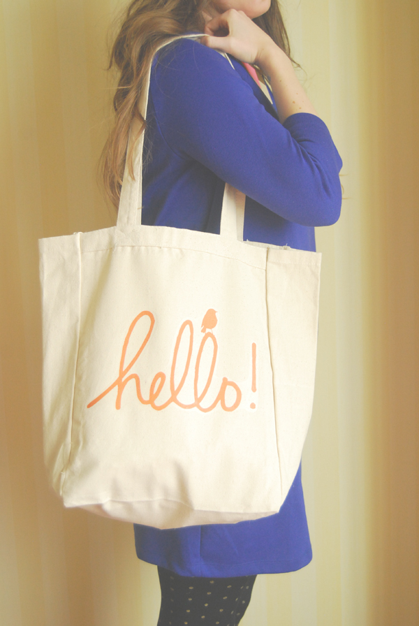 The Hello Social Totes by Whimsybags