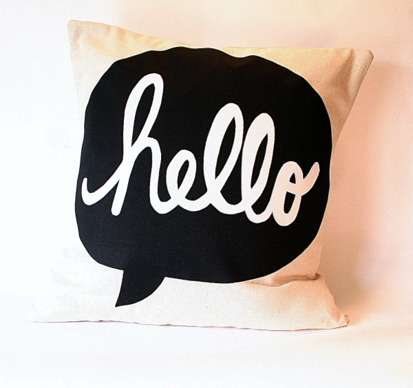 Hello Tote for The Hello Social by Michelle Dwight