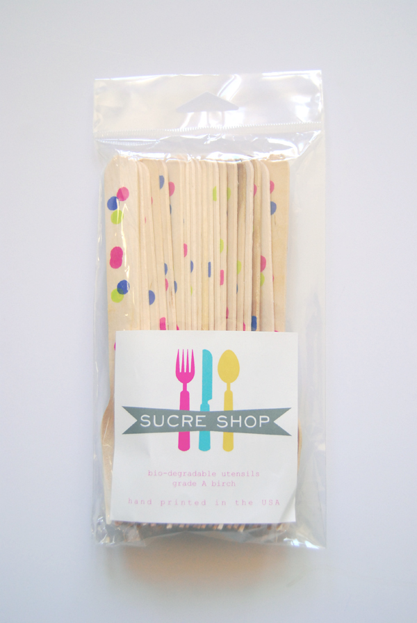 Sucre Shop Wooden Utensils for The Hello Social