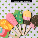Four Popsicle Printables For Your Popsicle Party