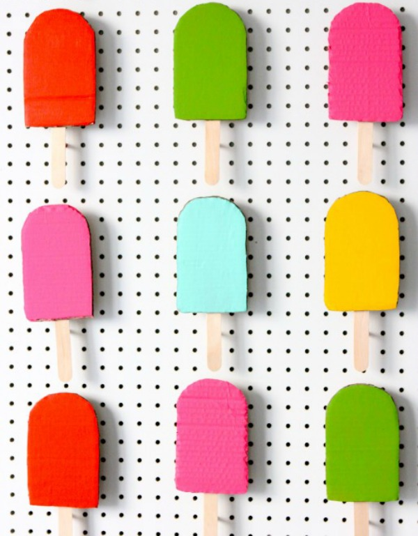 popsicle backdrop by you are my fave