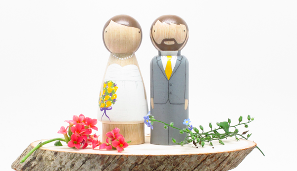 cake toppers by Goose Grease
