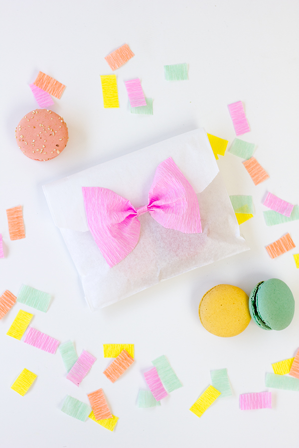 DIY Bow Treat Bags1