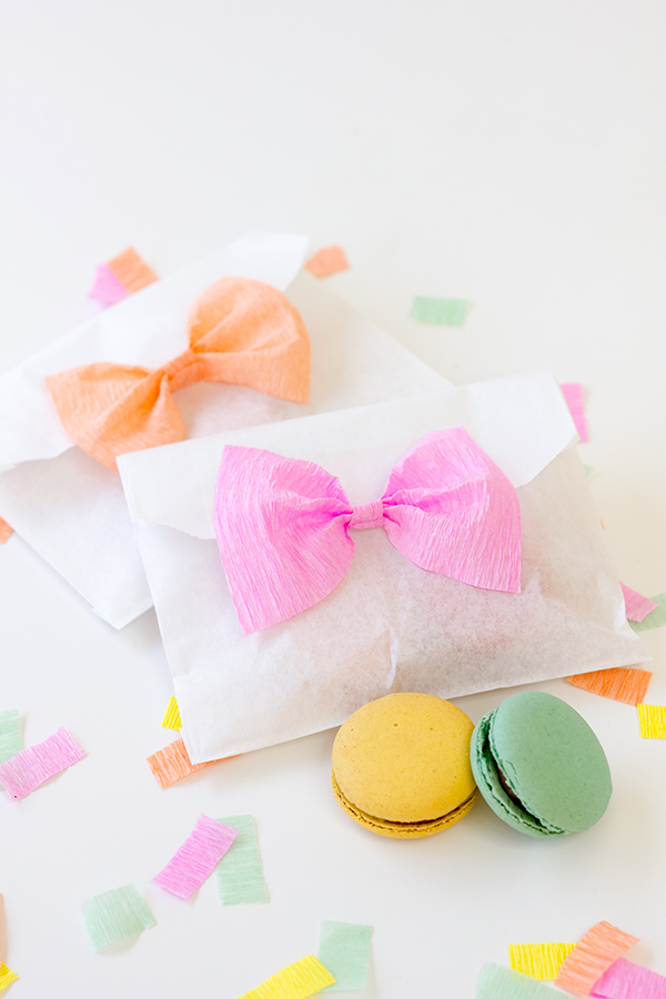 DIY Bow Treat Bags2