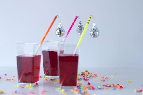 DIY Neon Disco Party Sticks