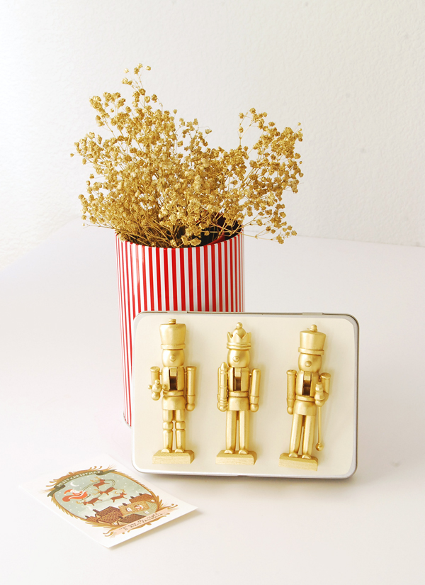 DIY Nutcracker Gift Tin