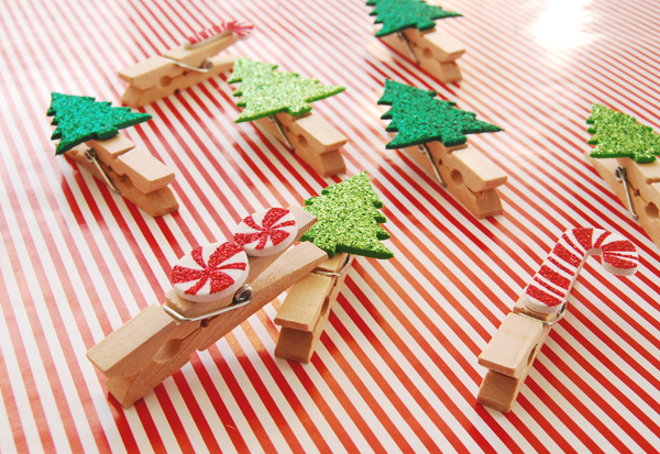 DIY Christmas Clothespins