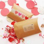 DIY Pillow Box Valentines