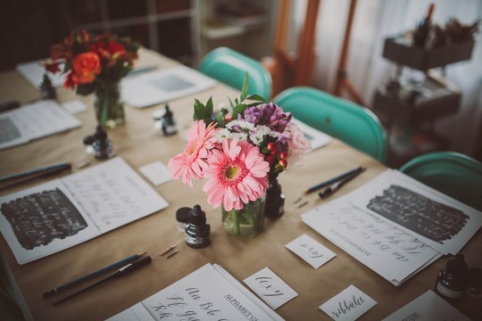 Manzanita Calligraphy Workshop