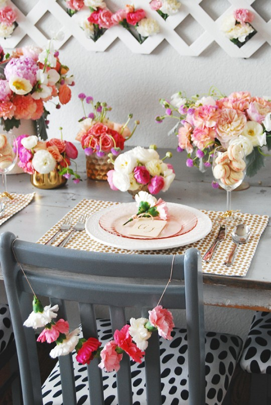 Mothers Day Brunch Tablescape