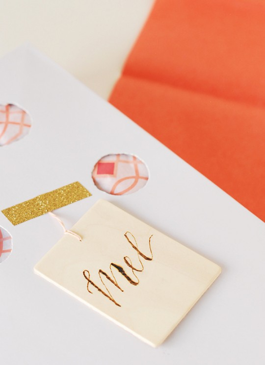 Mother's Day Gift Guide & DIY Polka Dot & Monogram Cut-out Gift Boxes
