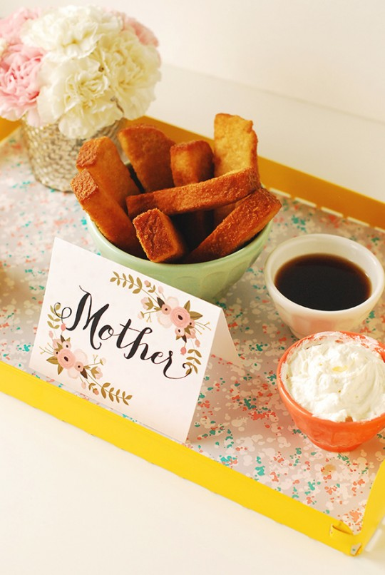 Handmade Store-bought Mother's Day Brunch