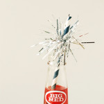 DIY \ 4th of July Sparkler Drinking Straws