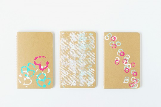 DIY \\ Printed Moleskine Notebooks