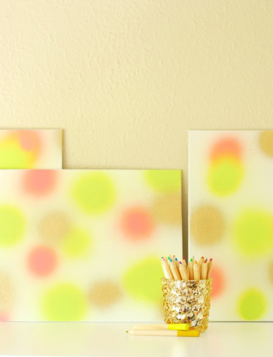 DIY \ Paint Burst Art