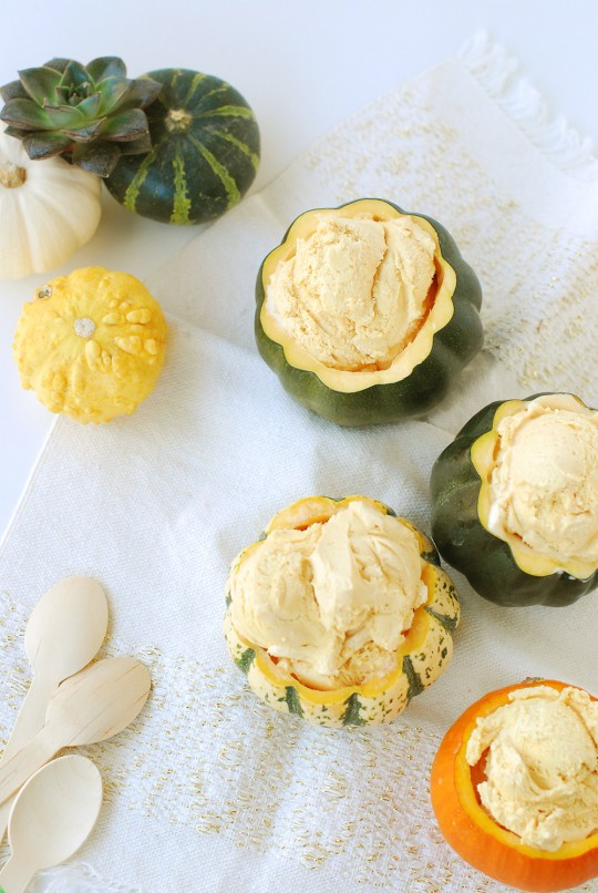 Taste It || Pumpkin & Gourd Ice Cream Bowls
