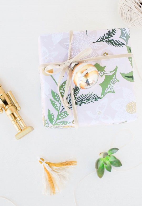 Minted Wrapping Paper