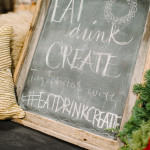 Recap \ EAT DRINK CREATE HOLIDAY BASH