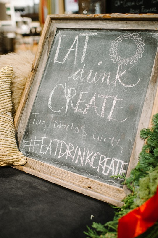 EAT DRINK CREATE HOLIDAY BASH with The Proper Pinwheel