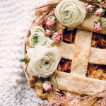 DIY \ Floral Pie Topper & Wreath