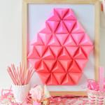 Make It \\ DIY Geometric Paper Easter Egg