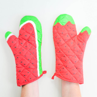 DIY Fruit Oven Mitts