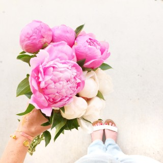 peonies via @theproperblog on instagram