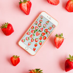 Printed \\ Strawberry Wallpaper Download & A New Series