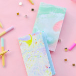 DIY \\ HOW TO MARBLE PAPER