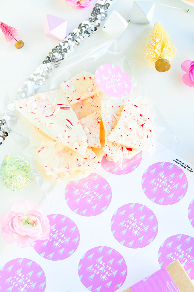 Mod Tree Printable Treat Labels by @theproperblog