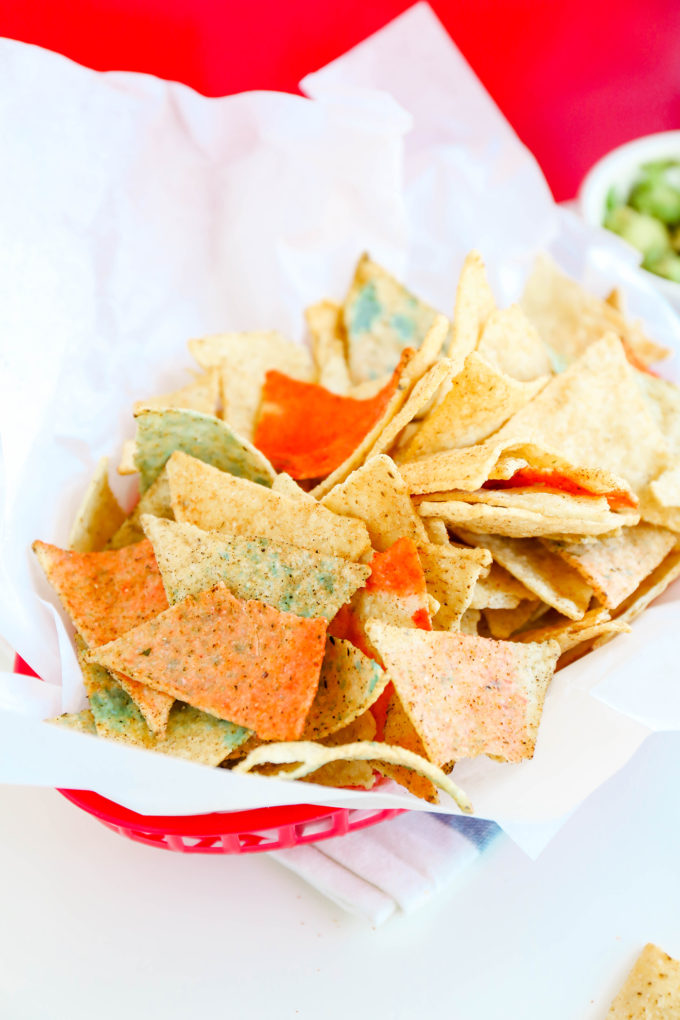 Edible Patriotic Chips For The 4th of July \\ www.theproperblog.com