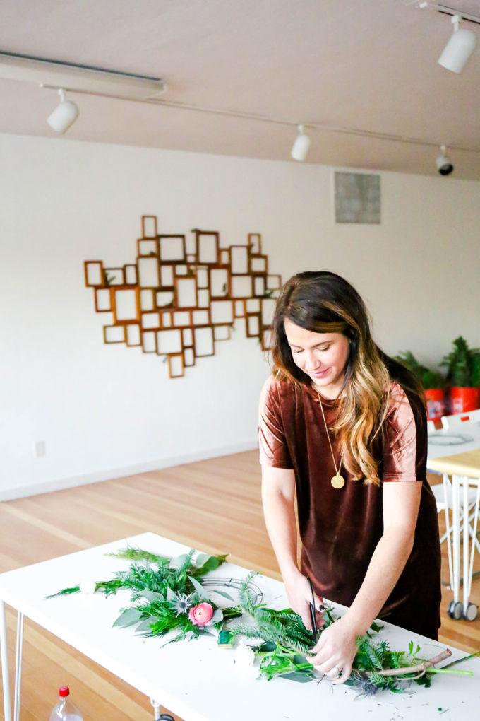 DIY WREATH & Holiday Wreath Workshop