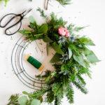 Wreath Wonderland \\ DIY Wreath & A Recap Of The Holiday Wreath Workshop