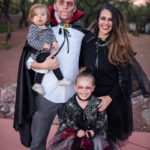 Sweet & Spooky \\ DIY Vampire Family Costume