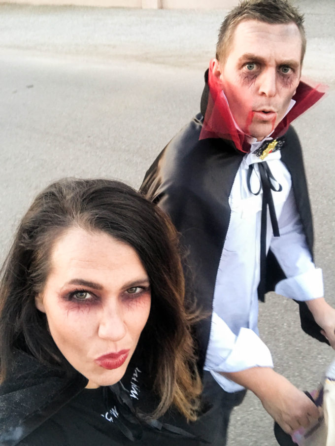 vampire couple costume